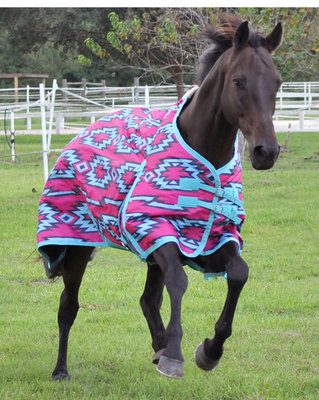 "Jeffers 600D ""Aztec"" Expression Turnout Blanket, 240g"