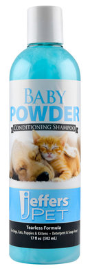 Baby Powder Shampoo, 16 oz
