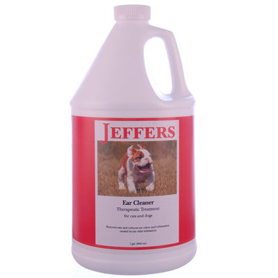 Jeffers Ear Cleaner & Therapeutic Treatment, gallon