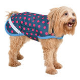 Jeffers Exclusive Polka Dot Dog Coat