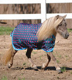 Jeffers 600D Pink Polka Dot Tempest Blanket for Ponies & Minis, 240g