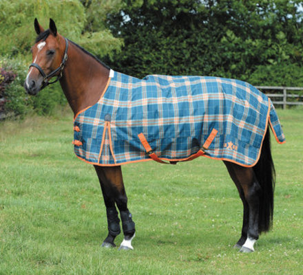 Jeffers Exclusive Saxon 1200D Standard Neck Turnout Blanket, 180g