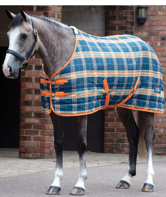 Jeffers Exclusive Saxon Medium Weight Turnout Blanket & Stable Blanket Set
