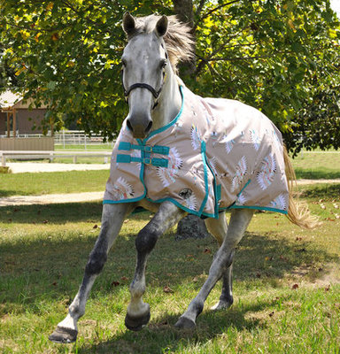 """Jeffers Expression """"Chief of My Tribe"""" 600D Horse Blanket, 240g"""