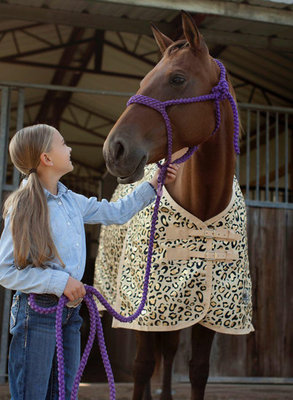 "Jeffers Expression ""Electric Cheetah 2.0"" Horse Blanket"