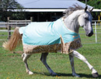 "Jeffers Expression ""Electric Cheetah"" 600D Horse Blanket, 240g"