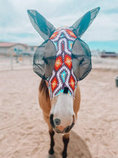 """Jeffers Expression """"Phoenix"""" Lycra Fly Mask with Ears"""
