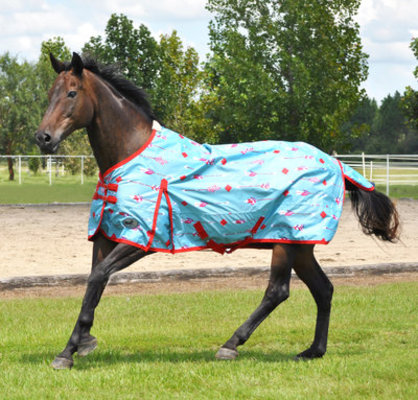 "Jeffers Expression ""Follow Your Arrow"" 600D Horse Blanket, 240g"