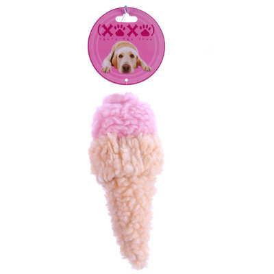 Jeffers Fuzzy Ice Cream Cones, Small