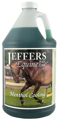 Jeffers® Menthol Cooling Shampoo, gallon