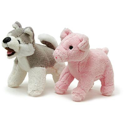 Jeffers® Plush Squeaky Dog Toys