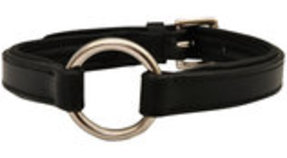 Jeffers Premium Padded Black Leather Collars