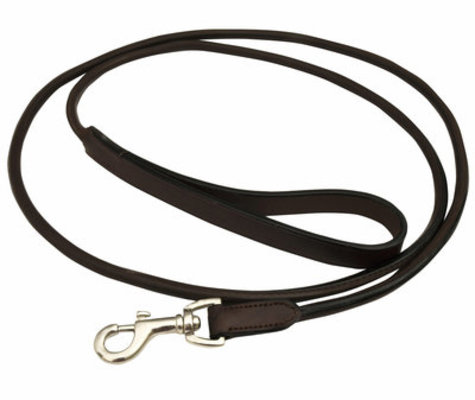 Jeffers 6' Premium Rolled Leather Leash