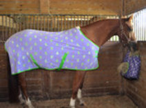 "Jeffers ""Prickly Cactus"" Expression Fleece Horse Cooler"