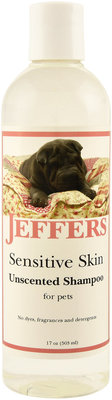 Jeffers Sensitive Skin Shampoo
