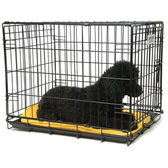 Jeffers Single Door Fold Go Dog Crates And Replacement Pans By