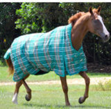 Jeffers Solaris 1200D Extended Neck Horse Blanket, 360g