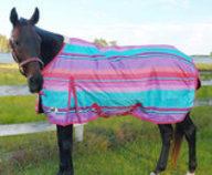 "Jeffers 600D ""Sunset Serape"" Expression Turnout Blanket, 240g"