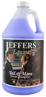 Jeffers® Tail & Mane Detangler, gallon