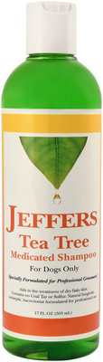 Jeffers Tea Tree Medicated Shampoo, 17 oz