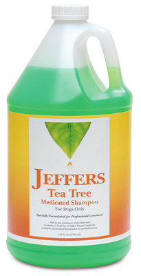 Jeffers Tea Tree Medicated Shampoo