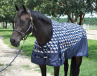 "Jeffers 600D ""Totally Cubular"" Horse Blanket, 240g"