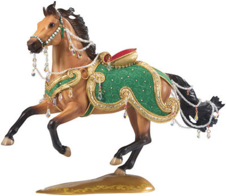 Jewel - Breyer 2010 Holiday Horse