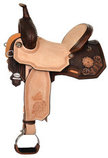 Josey Ultimate Cash Desert Edition Barrel Saddle, Wide Tree