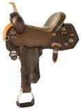 Josey Ultimate Legend Barrel Saddle, Wide Tree
