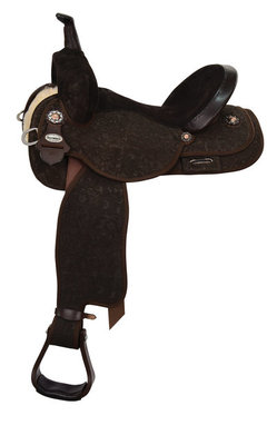 Josey Ultimate Lightspeed Barrel Saddle, Wide Tree