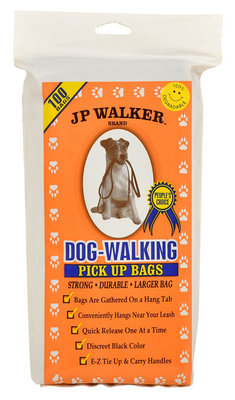 JP Walker Dog-Walking Pick Up Bags, 100 count