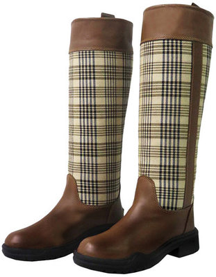 TuffRider Baker Plaid Lifestyle Boots