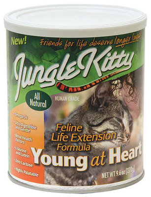 Jungle Kitty™ Young at Heart, 9.6 oz