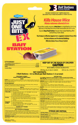 Just One Bite EX Bait Stations, 3-Pack