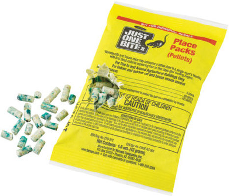 1.5 oz Pellet Packs (86 count) Just One Bite II