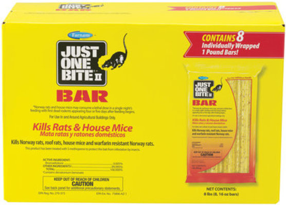 1 lb Bar (8 count) Just One Bite II