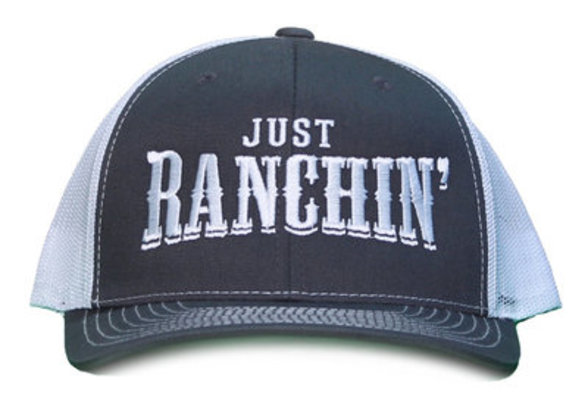 """Just Ranchin'"" Cap"