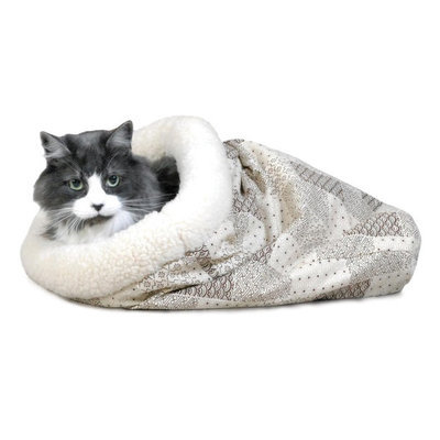 K&H Kitty Crinkle Sack, Small, Tan