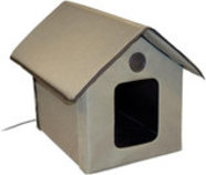K&H Heated Outdoor Kitty House