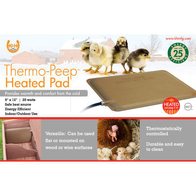 Thermo-Peep Chicken Heating Pad