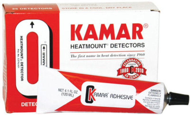 Kamar Heat Detectors, box of 50