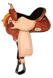 Kelly Kaminski Spark Flex2 Barrel Saddle, Wide Tree, Regular Oil
