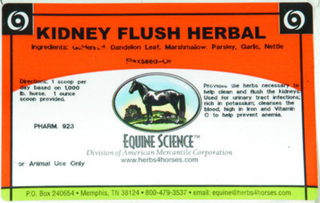 Kidney Flush Herbal, 80 servings