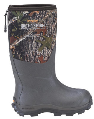 Kid's Arctic Storm Extreme-Cold Conditions Boot, Camo/Timber