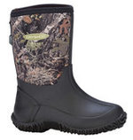 Kid's Tuffy All Season Sport Boot, Camo/Bark