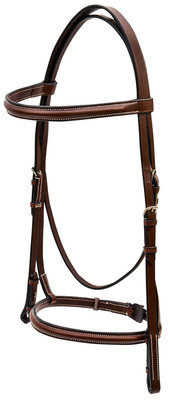 Kincade Full Plain Raised Bridle
