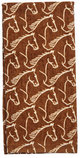 """Kitchen Towel with """"Horse Head"""" Designs"""
