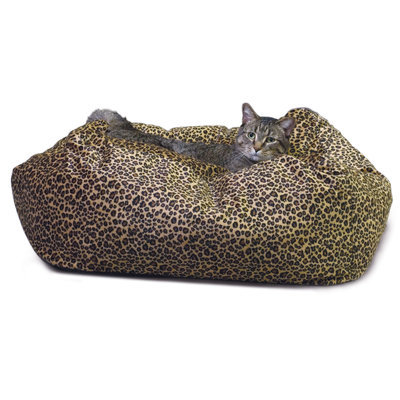Kitty Cuddle Cube, Leopard