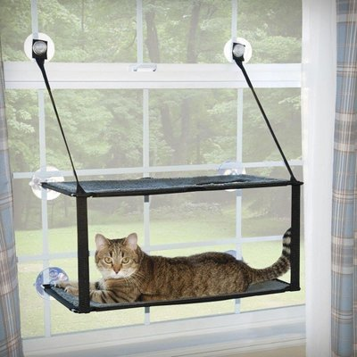 Double Decker Kitty Sills EZ Window Mount