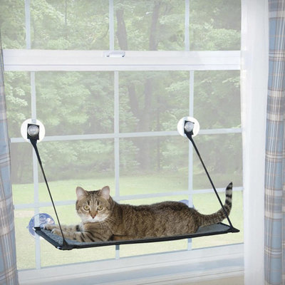 Single Level Kitty Sills EZ Window Mount